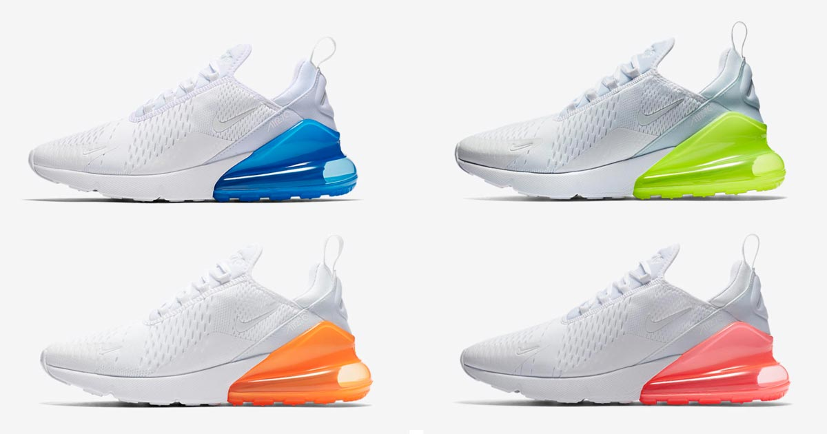 Nike Air Max 270 White Pack