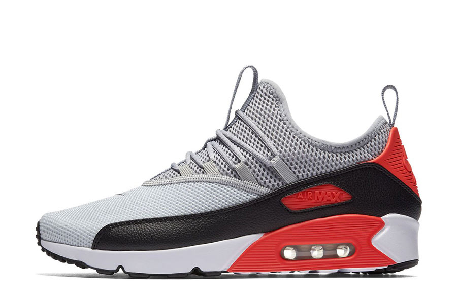 nike air max 90 hommes blanc gray infrared noir