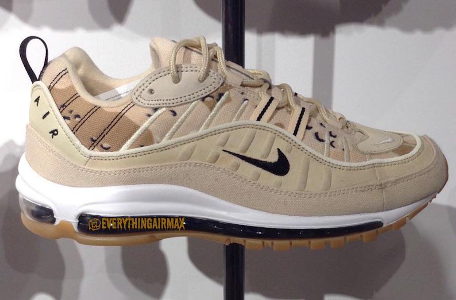 wholesale dealer f930c 98b1c Preview: Nike Air Max 98 Desert Camo - Le Site de la Sneaker