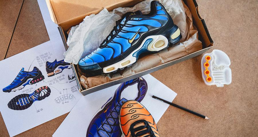 Kickstories: la Nike Air Max Plus Le Site de la Sneaker