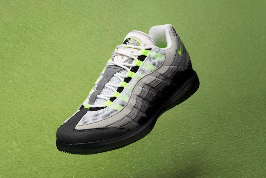 NikeCourt Vapor RF Air Max 95 Neon AO8759 078