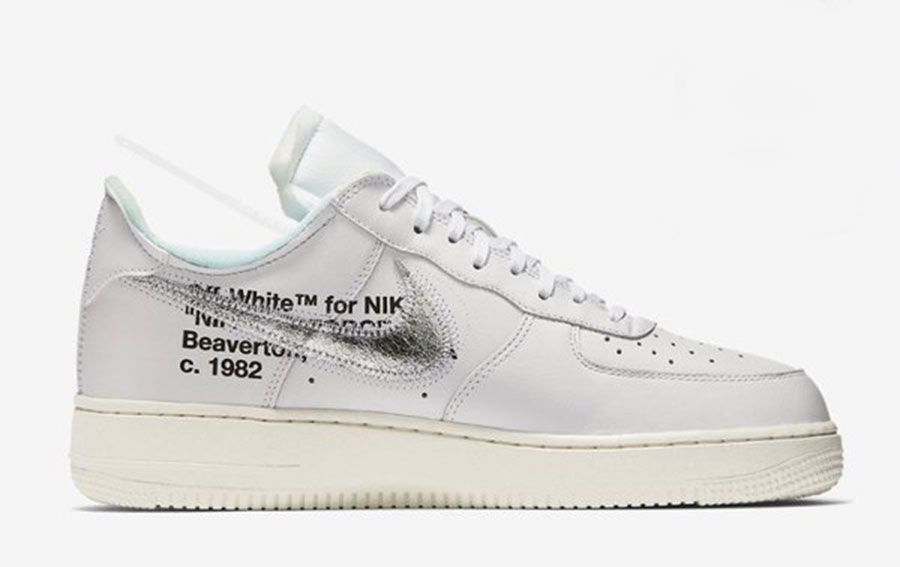 2018 Off White x Nike Air Force 1