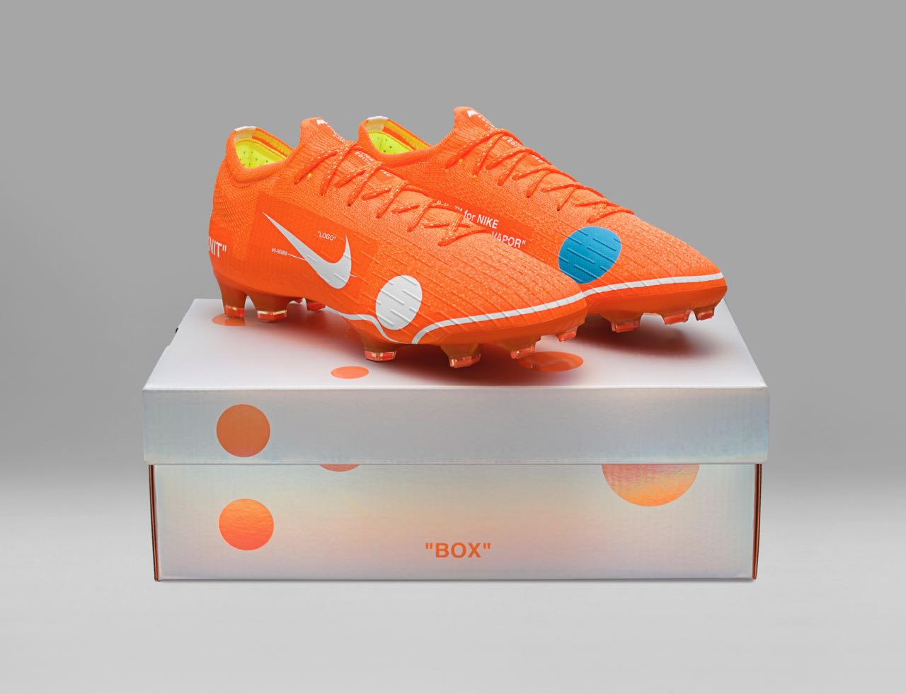 finest selection a264e 6055e Off-White x Nike Mercurial Vapor 360