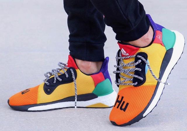 Preview: Pharrell x adidas Originals Solar HU Glide ST Boost