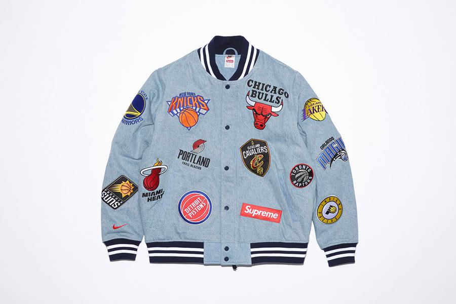 Supreme x Nike x NBA Logos Collection Le Site de la Sneaker