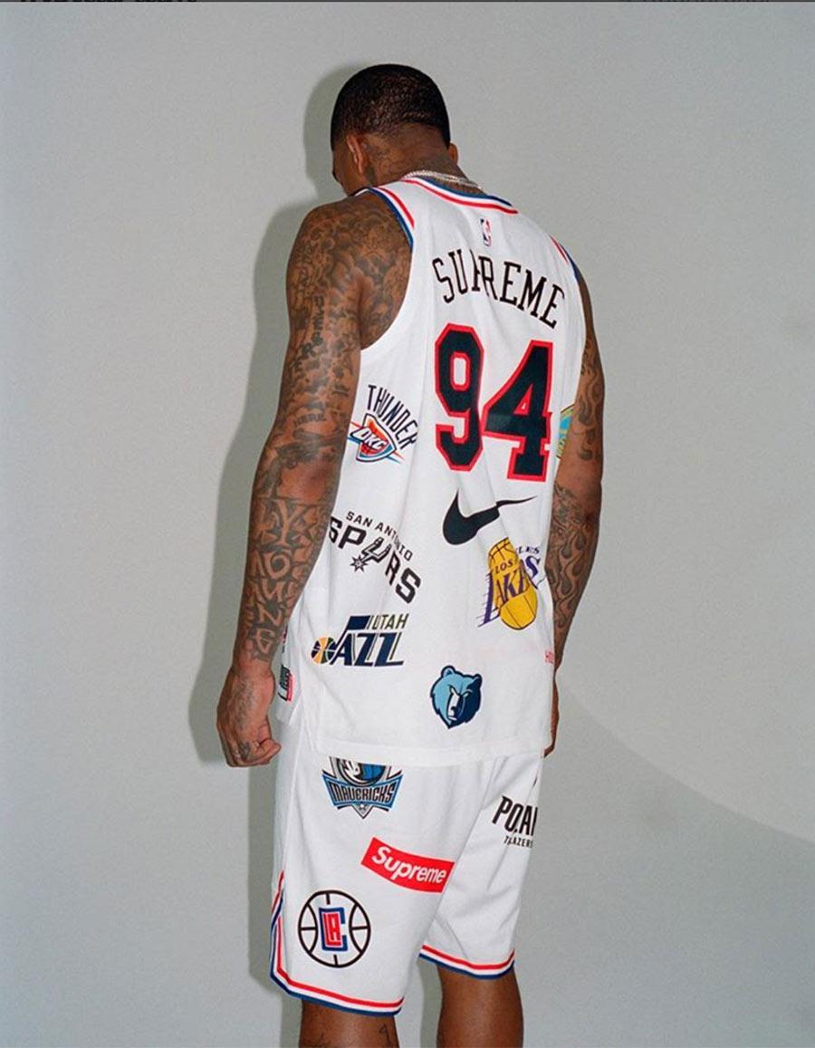 Supreme x Nike x NBA Logo Jerseys Le Site de la Sneaker