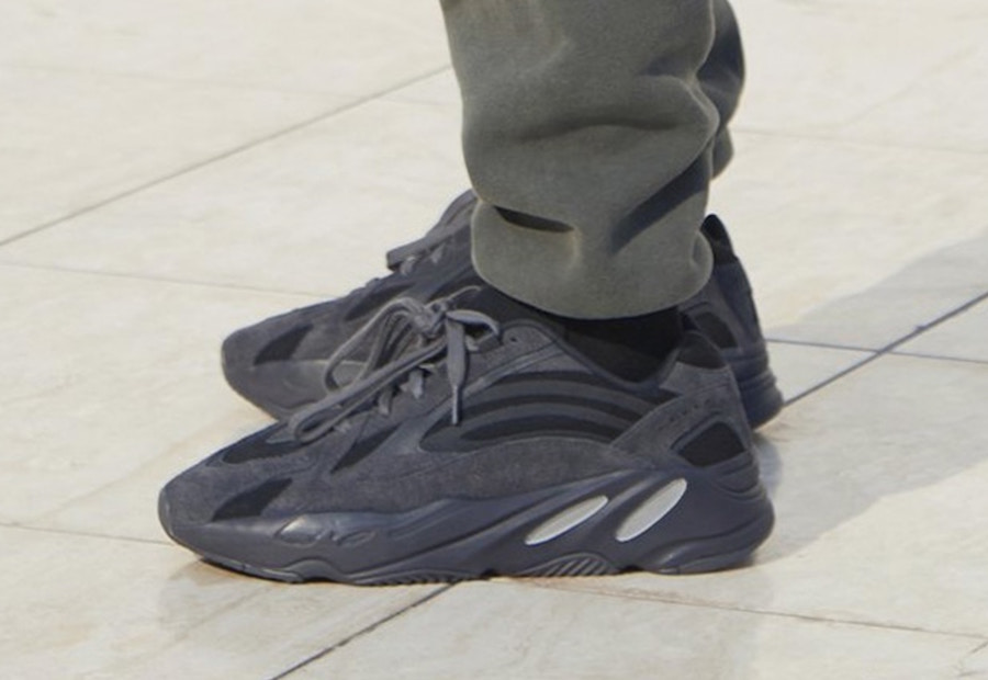 4087d4282e1f7 Preview  adidas Yeezy Boost Wave Runner 700 Utility Black - Le Site ...
