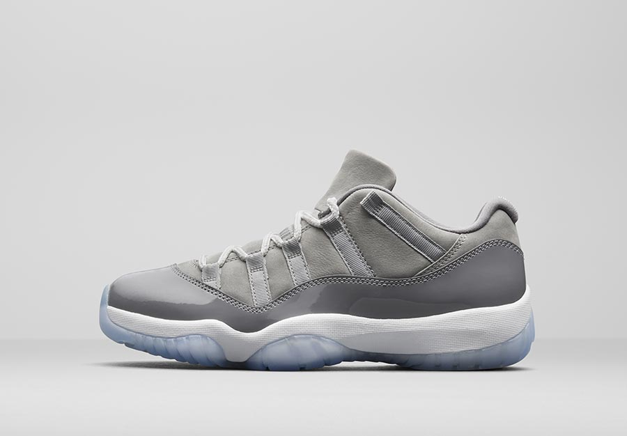 énorme réduction a5932 e3c82 Air Jordan 11 Low Cool Grey