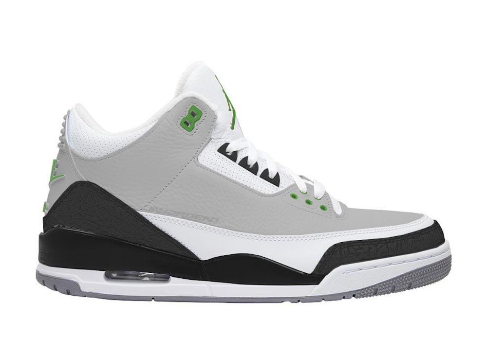 c3dacd89cf59ea Preview  Air Jordan 3 Chlorophyll - Le Site de la Sneaker