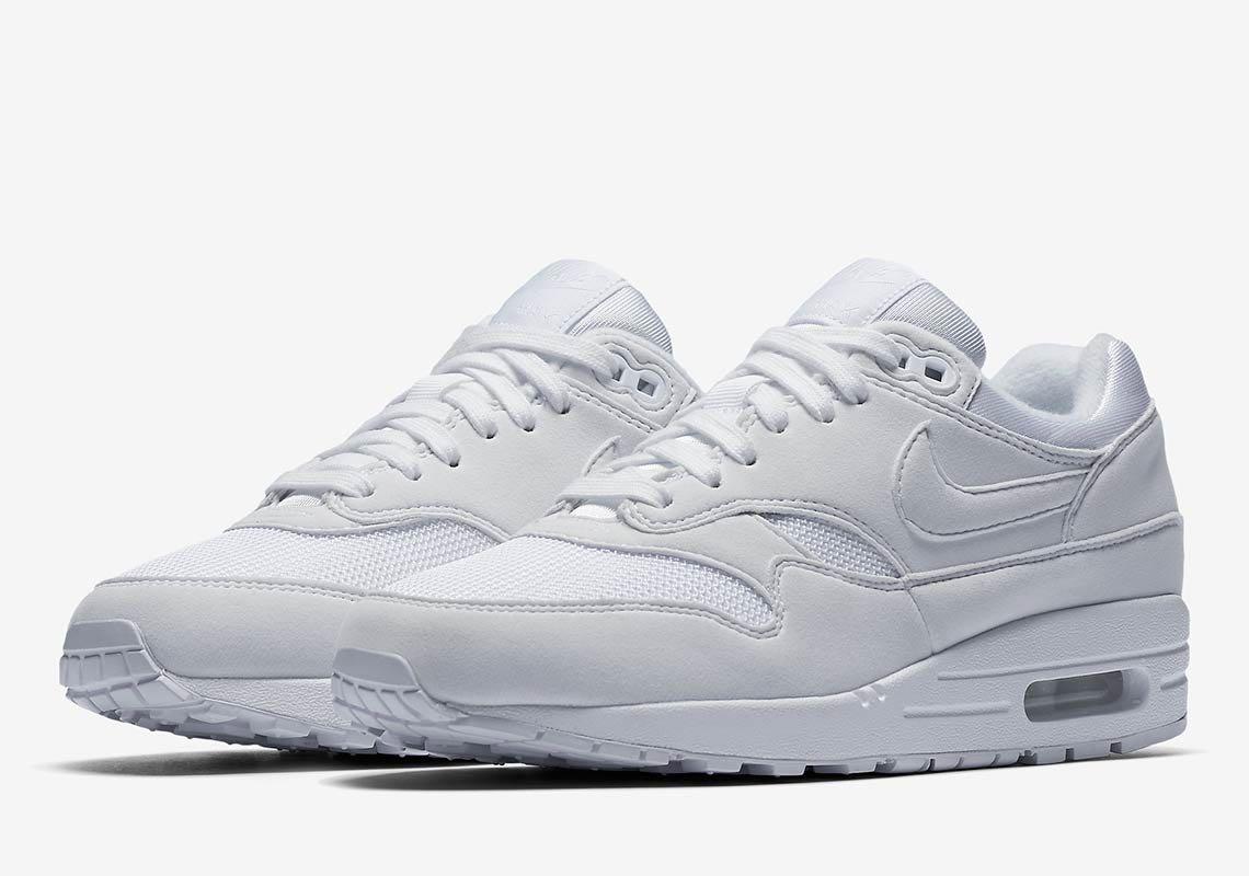 Preview: Nike WMNS Air Max 1 Triple White - Gov