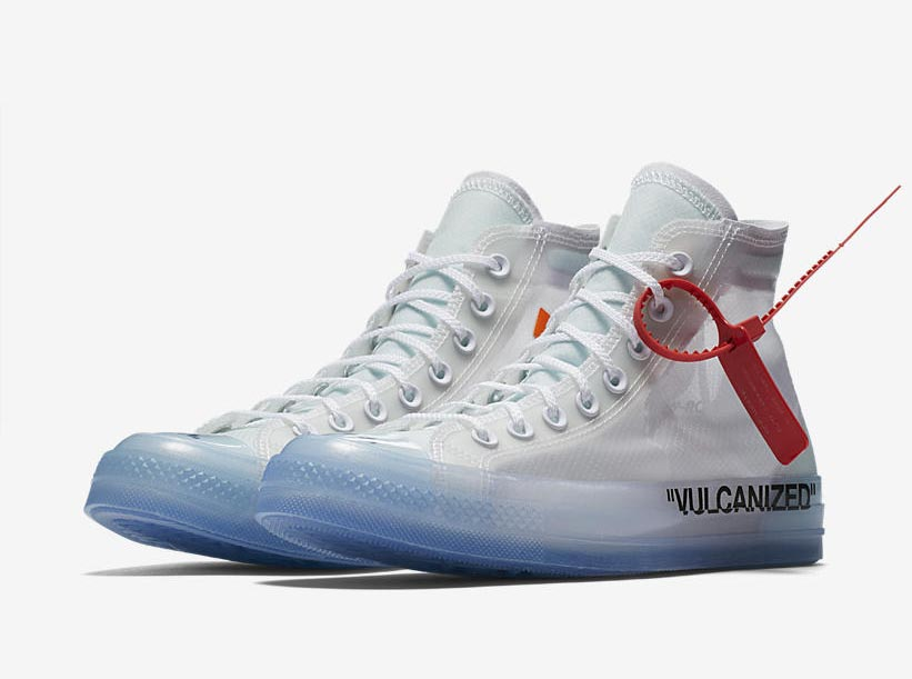diversified in packaging search for best best selling Off-White x Converse Chuck Taylor The Ten