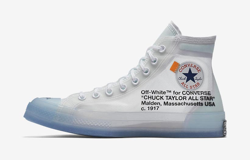 5505d183833 Off-White x Converse Chuck Taylor The Ten - Le Site de la Sneaker