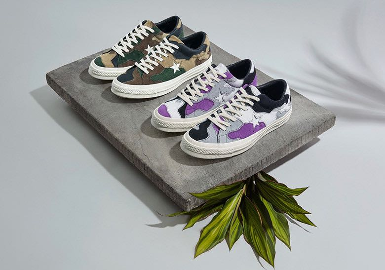 best loved 603ed 2e343 ... coupon for sneakersnstuff x converse one star camo collection dbf38  821e6