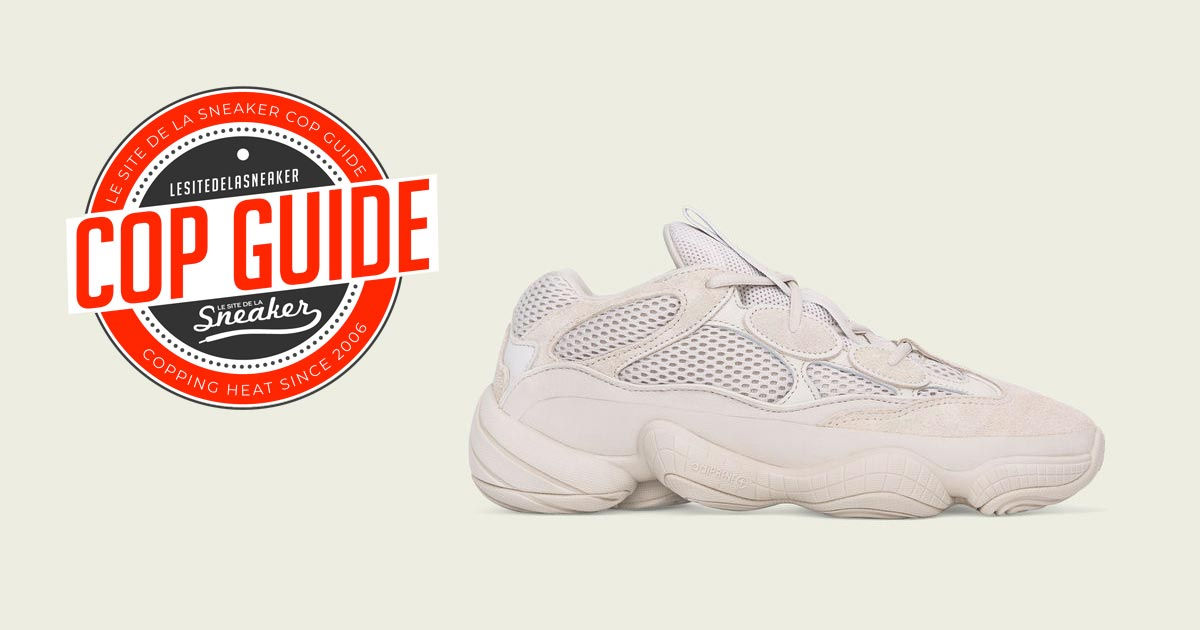 best website 58b7e 8b82e adidas YEEZY Desert Rat 500 Blush - Le Site de la Sneaker