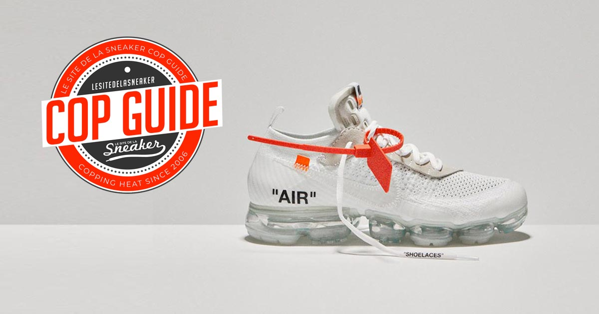 latest great deals big sale Comment cop la Off-White x Nike Air VaporMax White ? - Le ...