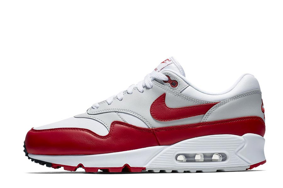 Nike Air Max 90/1 University Red - Le Site de la Sneaker