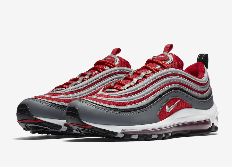 US Nike Air Max 97 Hyperfuse Women Men Shoes Gym Red Gym