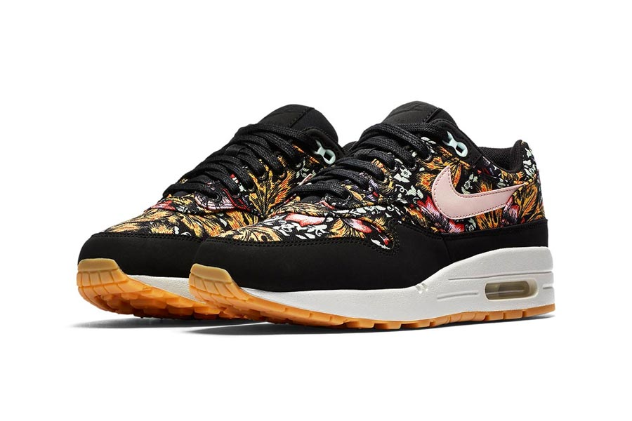 separation shoes 9bac7 1cc7b ... new zealand nike air max floral print black 1 5c1eb 22f7a ...