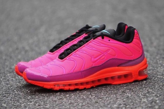Release Date: Nike Air Max Plus 97 Racer Pink •