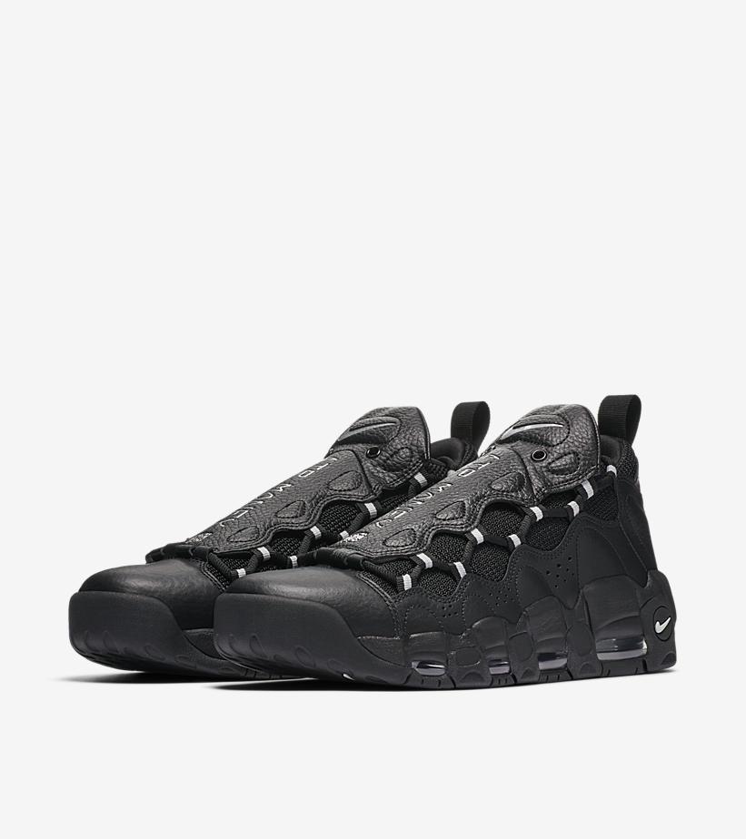 quality design 393f1 9b738 Nike Air More Money Black Pure Platinum - Le Site de la Sneaker