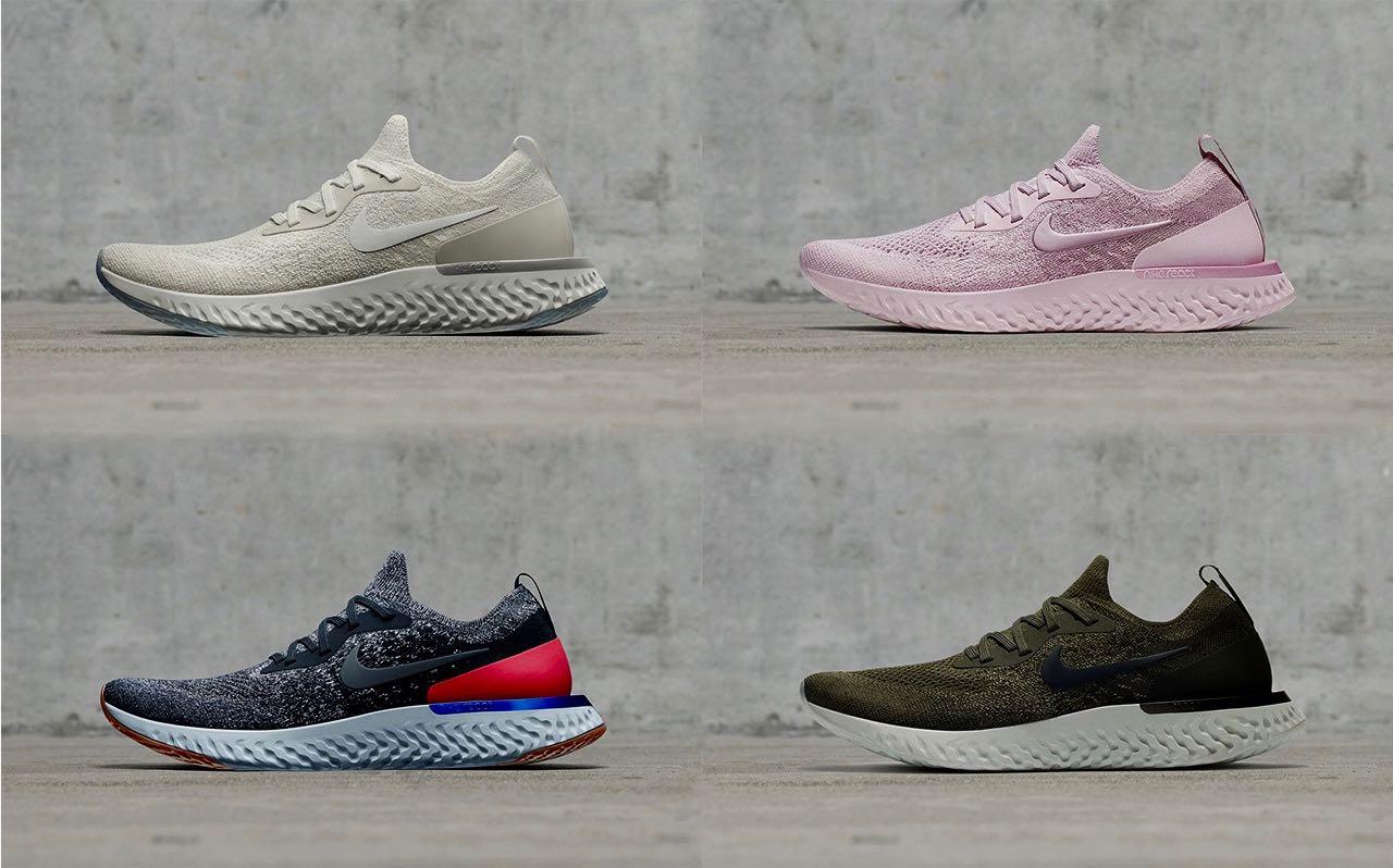 eb1b9d0c7aa284 Nike Epic React Flyknit Printemps/Eté 2018 - Le Site de la Sneaker