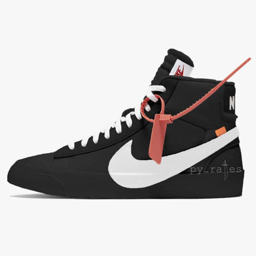 Off-White x Nike Blazer Black