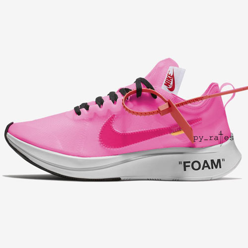 Off-White x Nike Zoom Fly Pink