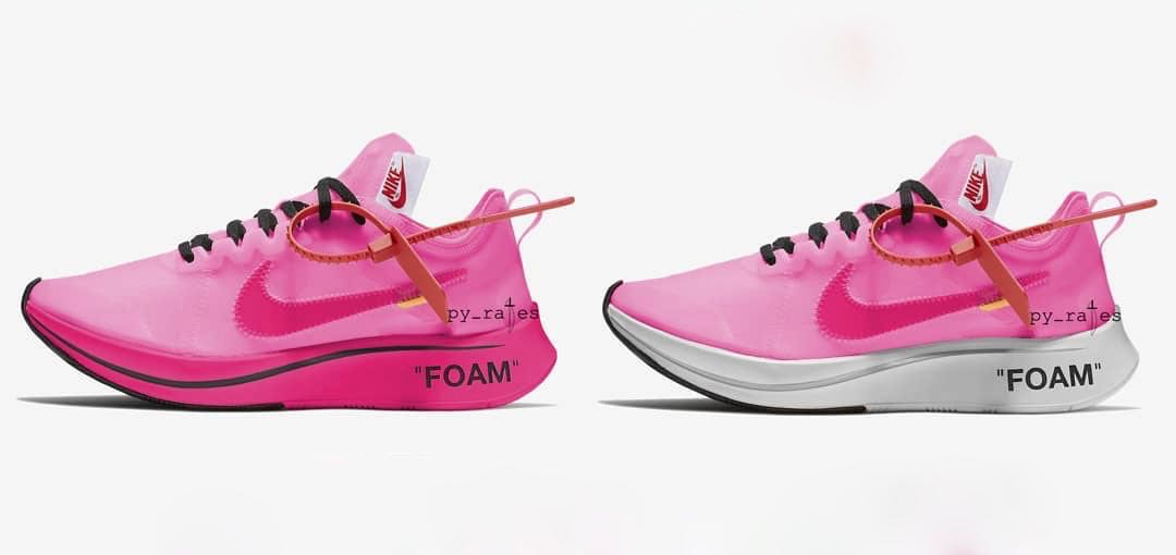 Preview: Off White x Nike Zoom Fly SP Tulip Pink Le Site