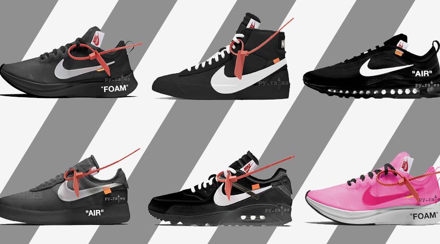 separation shoes e51d5 be462 Toutes les collabs Nike x Off-White à venir en 2018