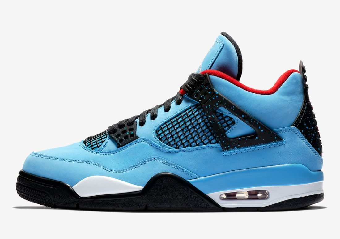bas prix 3db49 d7878 Travis Scott x Air Jordan 4 Houston Oilers