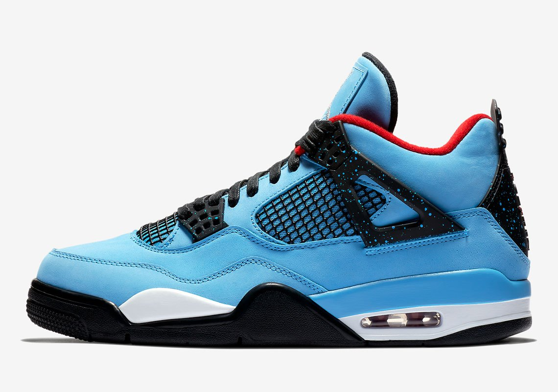 00ac398a005 Travis Scott x Air Jordan 4 Houston Oilers - Le Site de la Sneaker