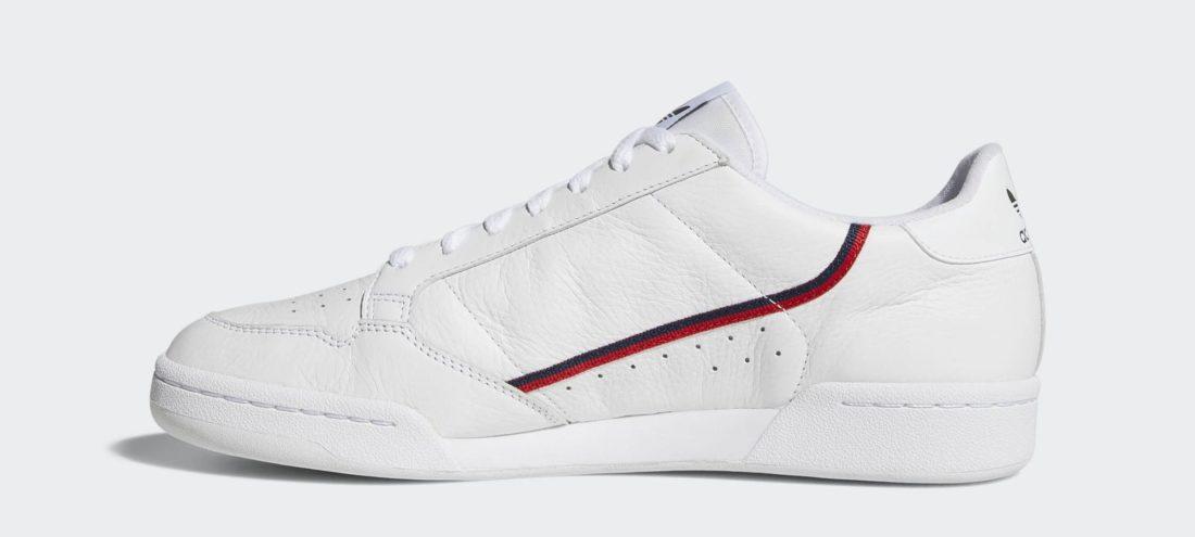 adidas Continental 80 Rascal White