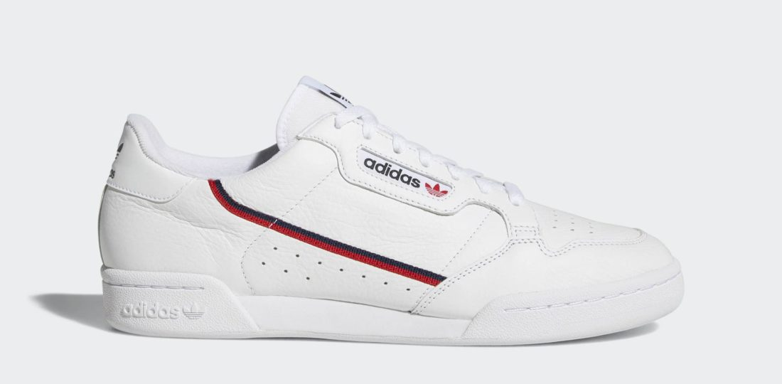 shop best sellers detailed look great look adidas Continental 80 Rascal White