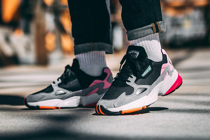 adidas Falcon Black Light Granite
