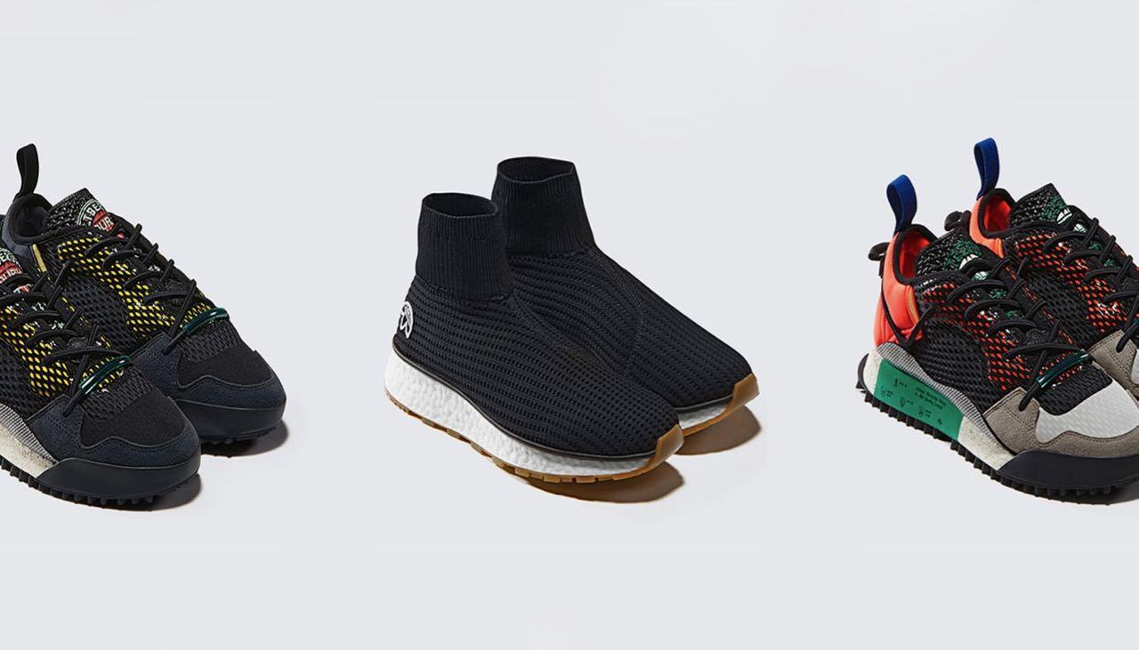 Des photos de deux nouvelles sneakers Alexander Wang x
