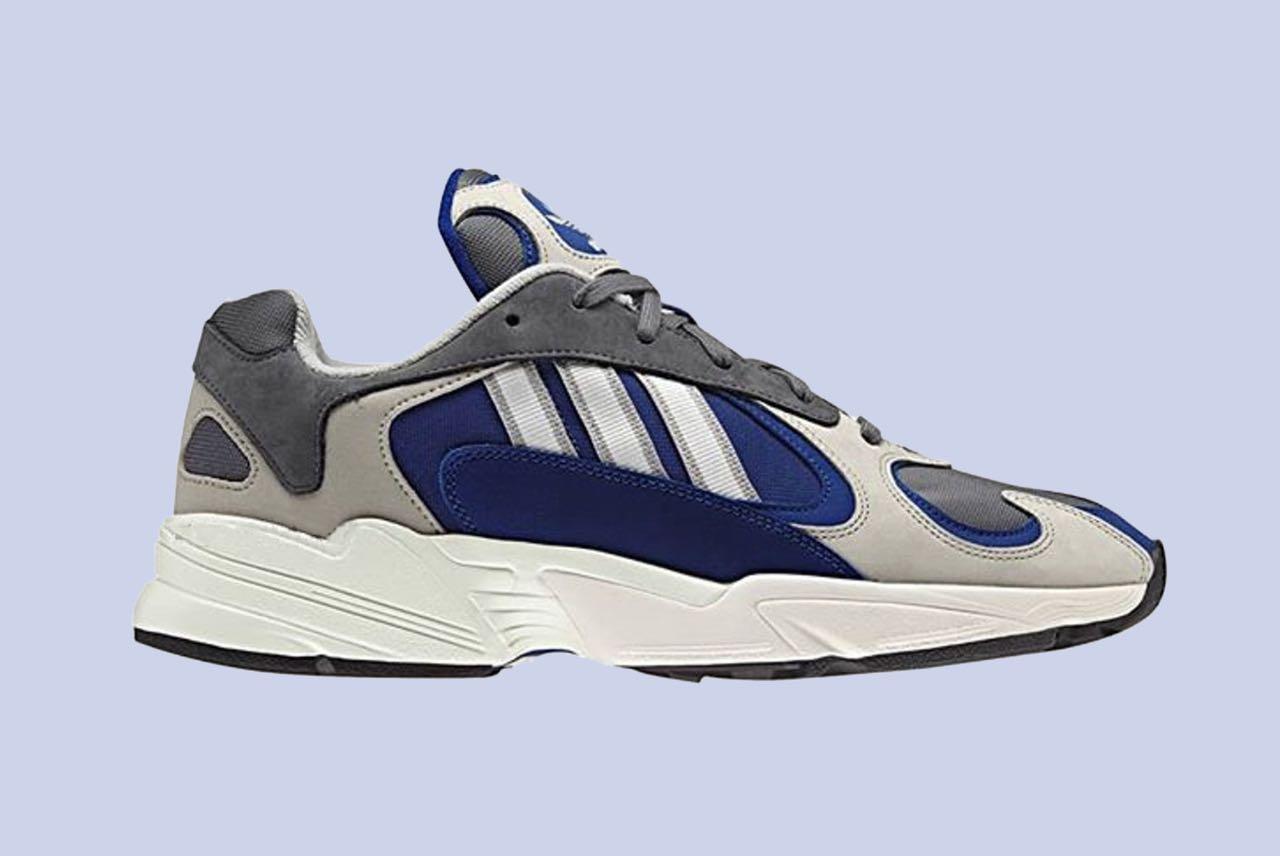 adidas yung 1 femme bleu