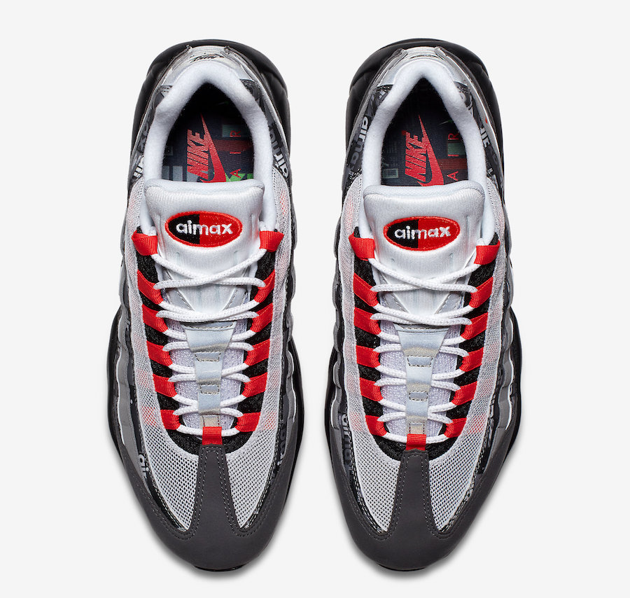 Nike x Atmos Air Max 95 Print *We Love Nike* (Black Bright