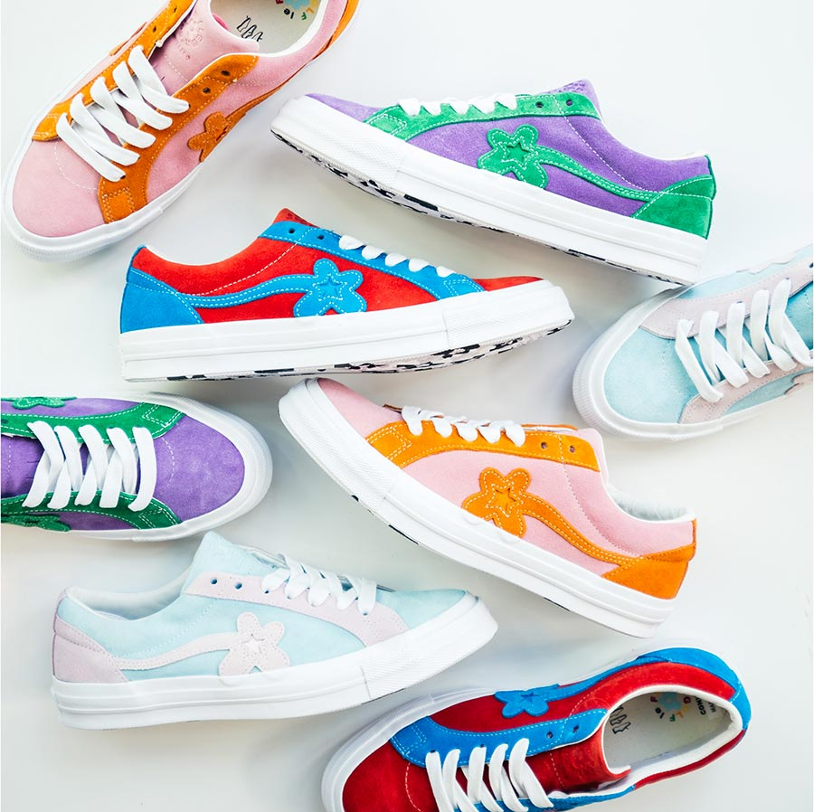 Golf Le Fleur x Converse One Star Bicolor Collection
