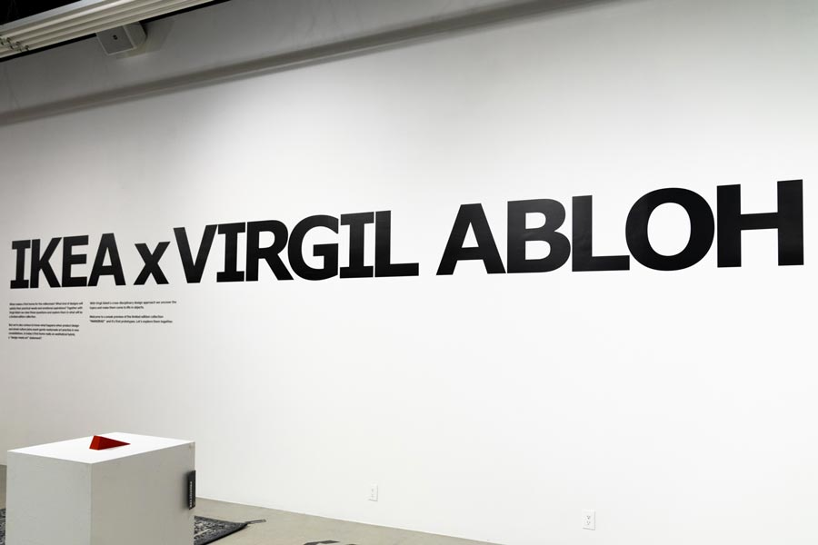 Apercu De La Collection Ikea X Virgil Abloh Markerad Le Site De
