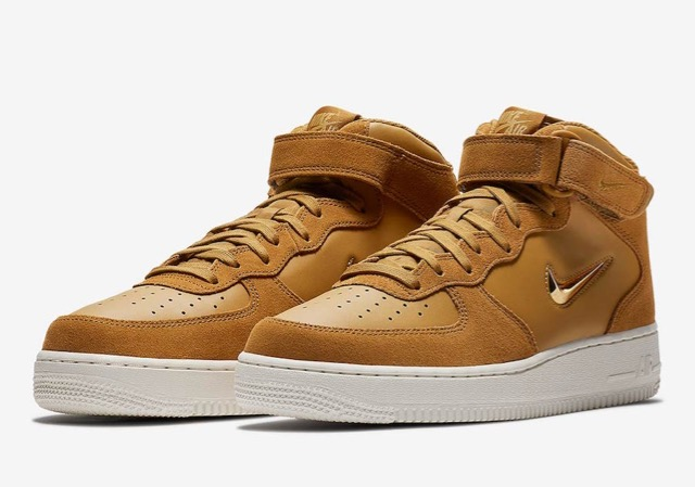 La Nike Air Force 1 Mid Jewel de retour Le Site de la Sneaker