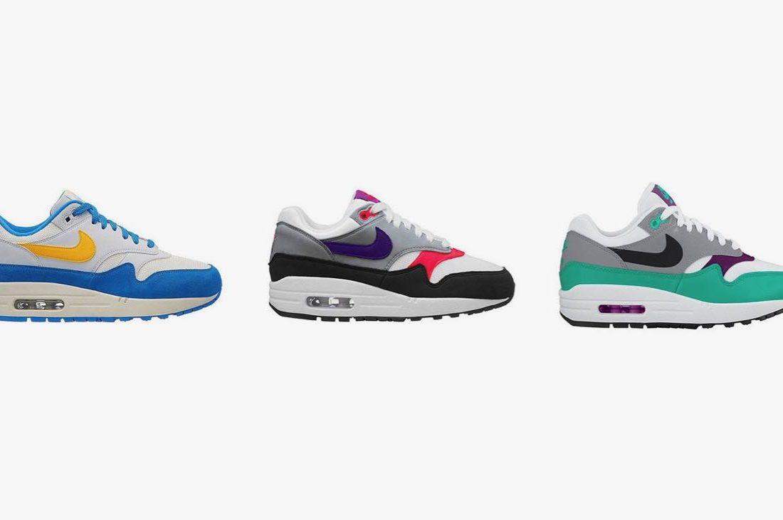 chaussures de séparation 933aa 23981 3 nouvelles Nike Air Max 1 pour l'été - Le Site de la Sneaker