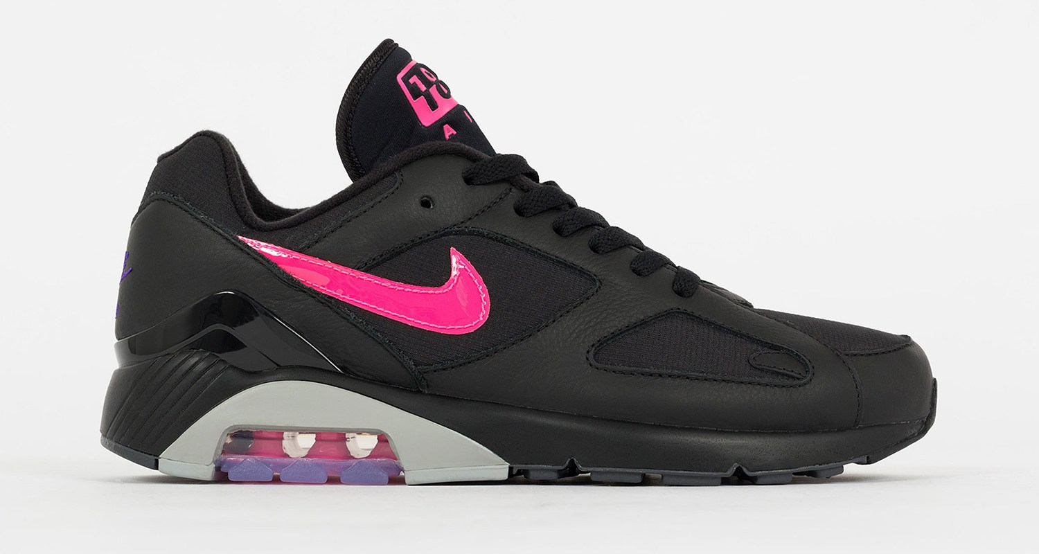 cheap for discount 2beda 0f845 Nike Air 180 Black Pink Grey