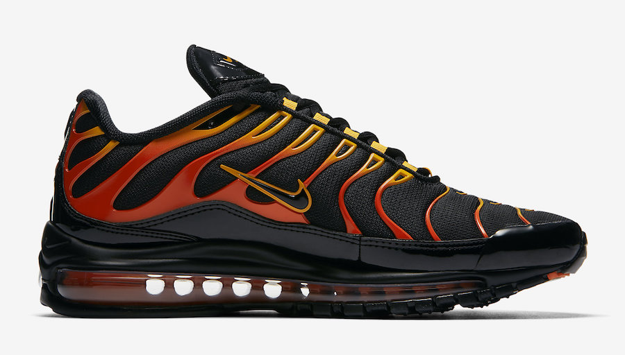 Nike Air Max 97 Plus Shock Orange AH8144_002 Chaussures nike