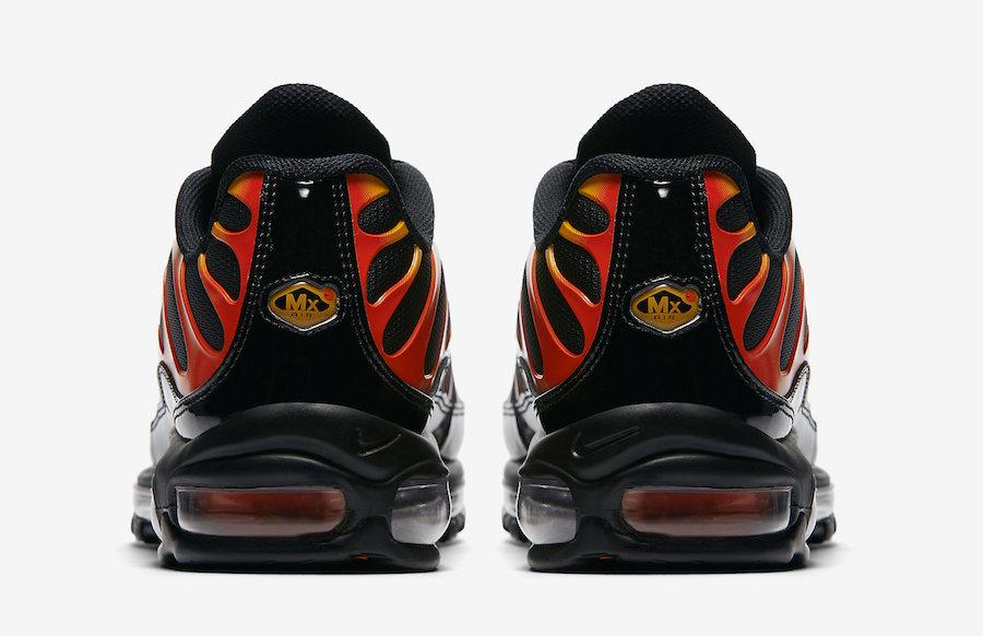 Nike Air Max 97 Plus Black Shock Orange AH8144 002 NOIRFONCE