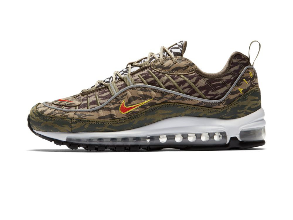 air max 98 homme olive