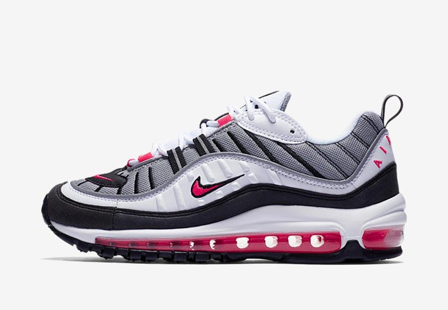 Nike Wmns Air Max 98 Solar Red Le Site De La Sneaker