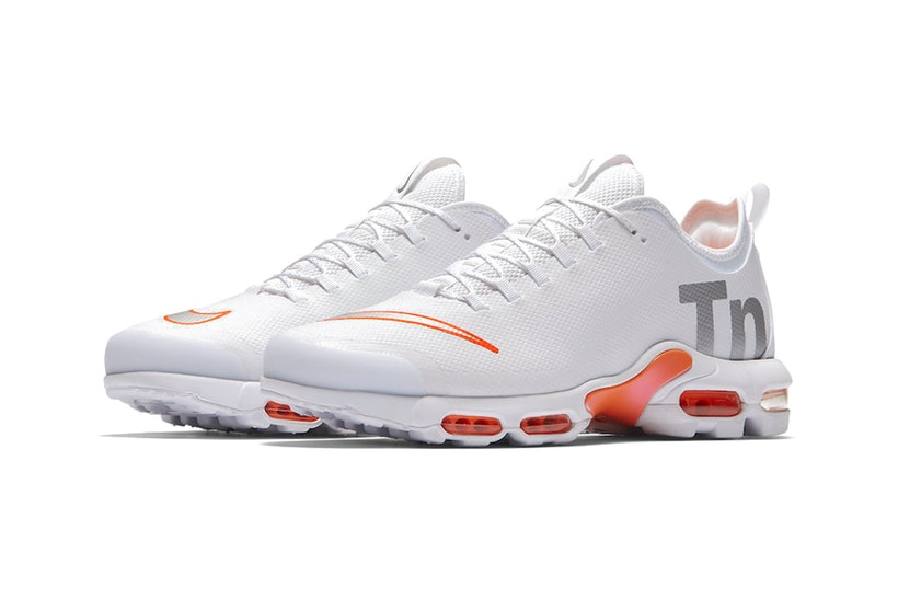 best website bcf43 734e8 Nike Mercurial TN White Orange