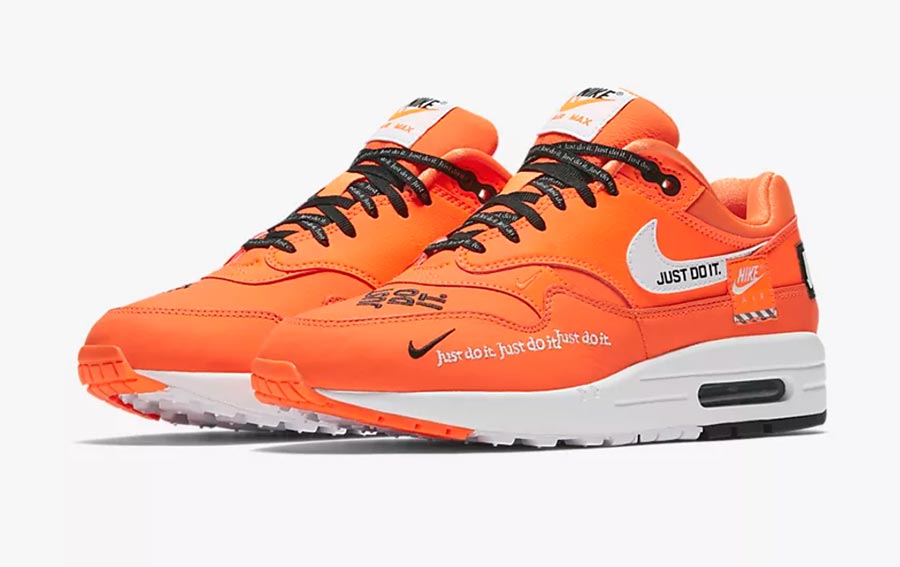grossiste daa28 a86f3 Nike Air Max 1 Just Do It Pack
