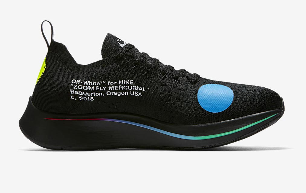 Off White x Nike Zoom Fly Mercurial Flyknit Pack