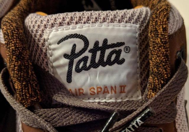 Preview: Patta x Nike Air Span II Brown Le Site de la Sneaker